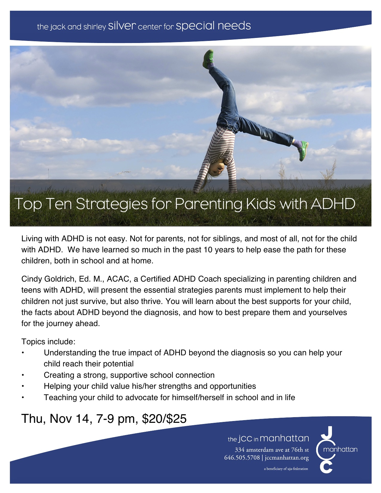 Parenting Kids with ADHD Flier (1)