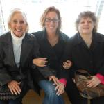 Gena with her mother and grandmother. Courtesy of Gena Rosenzweig